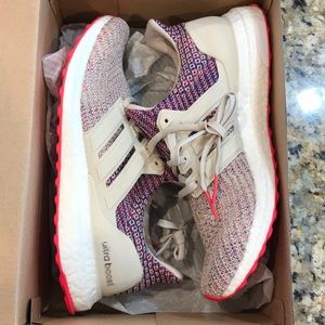 Adidas Ultra Boost Womens Pink Size 8.5 Shoes